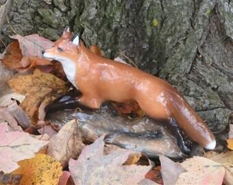 """Fox Figurine """"Night Runner"""""""