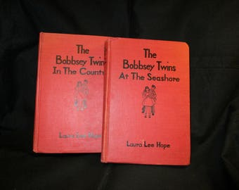 Vintage set of the Bobbsey Twins Adventures