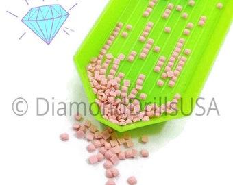 DMC 224 SQUARE 5D Diamond Painting Resin Drills Beads DMC 224 Very Light Shell Pink