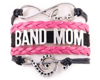 Band Mom Adjustable Wrap Bracelet