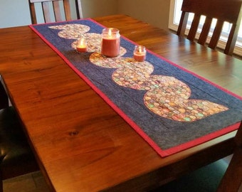 Rick Rack Table Runner Custom Fabric Choices