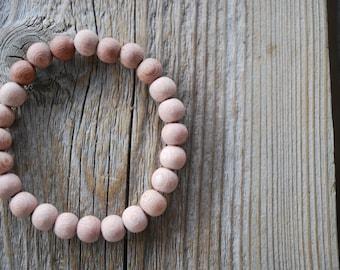 Rosewood bracelet yoga bracelet wood bracelet mala beads meditation beads yoga beads yoga jewelry
