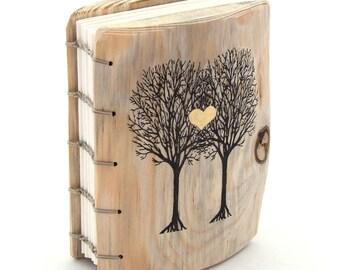 Rustic Wedding Guest Book Wood Rustic guestbook unique wedding personalized rustic Guestbook Spring Summer Fall Winter