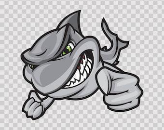 Stickers Sticker Hunting Shark Atv Waterproof Sports Fishing Fisherman 01752