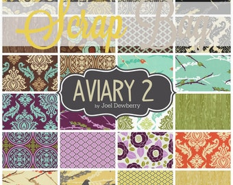 Aviary 2 Scraps-- Scrap Bag Quilt Fabric by Joel Dewberry for Free Spirit