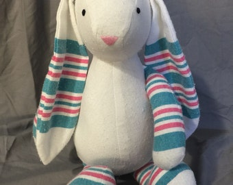 Plush Bunny from YOUR baby's hospital receiving blanket!!
