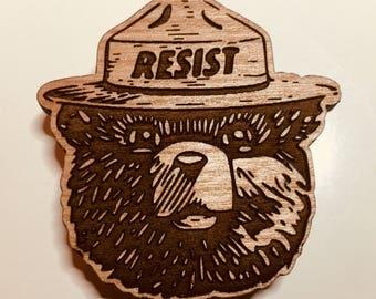 Smokey the Resistance Bear