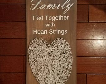 Family, Tied Together with Heart Strings