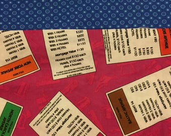 Monopoly Game Cards Standard Pillowcase