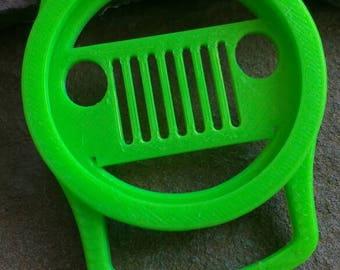 PLA lens cap holder, lens cap saver, camera lens cap holder, biodegradable lens cap holder, Jeep grill lens case holder