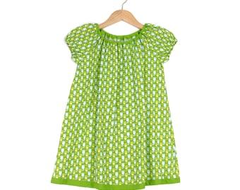 Summer dress girl Dress Floral Green