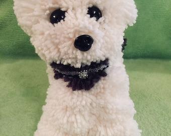 Adorable handmade dog