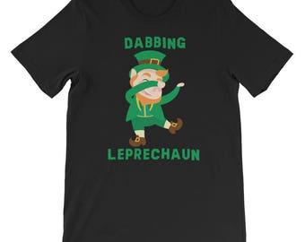 St Patricks Day Shirt - Dabbing Leprechaun - St Pattys Shirt - Shirt - Funny St Patricks Day Shirt  - Shamrock Shirt