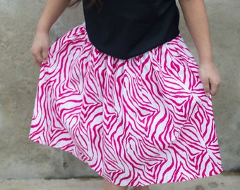 Lizzie's Safari Toddler Skirt