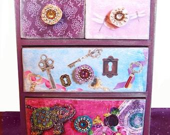 Girls Jewelry Box Secret Garden Box Personalized