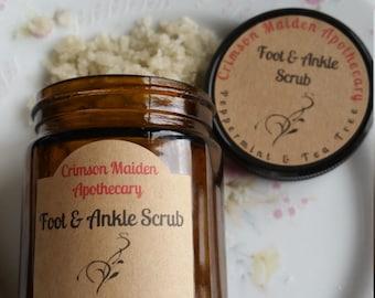 Peppermint & Tea Tree Salt Foot Scrub