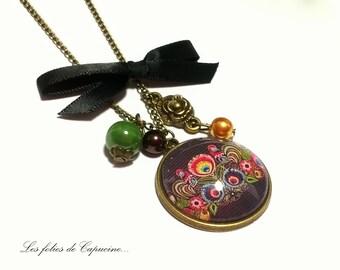 Great necklace • FOLK• CABOCHON