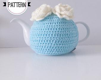 The Wooly Retro Tea Cosy, Crochet Tea Cosy Pattern, Crochet Pattern, Tea Cozy, Tea Cosy, Tea Cozies, Crochet Cozy, Teapot