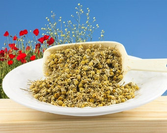 Organic Dried Chamomile Flowers Herb Tea, Culinary, Edible Flowers, Potpourri, Bodycare or Craft Supply, 1 oz