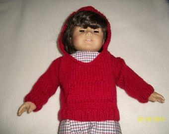 Red Doll Hoodie