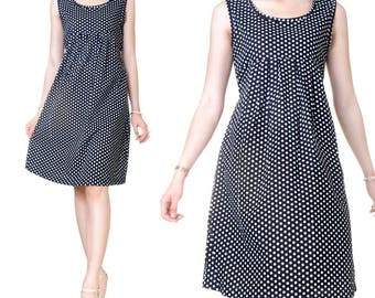 Knee length (M44) print Babydoll dress