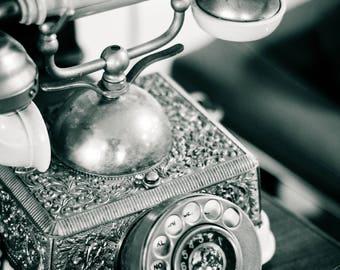 Vintage Fancy Telephone No 3 Fine Art Photographic Print