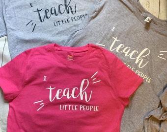 I teach people