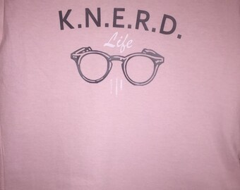 Traditional K.N.E.R.D. Life Pink Ice T-Shirt