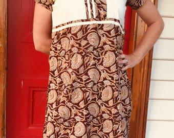 Indian boho beach dress