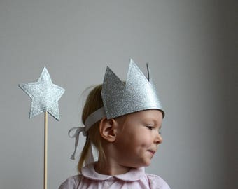 Kid's Star Wand, Gold Wand, Silver Wand, Dress Up, Imaginative Play, Kid's Party Gift