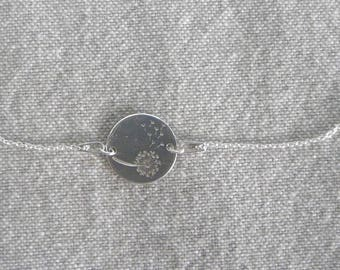 "Choker silver fine ""Make a wish..."""