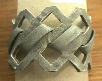 Grey Bracelet Old Belt