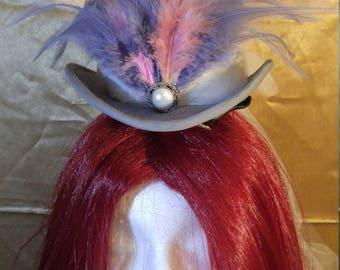 Lady Grey Mini top Hat
