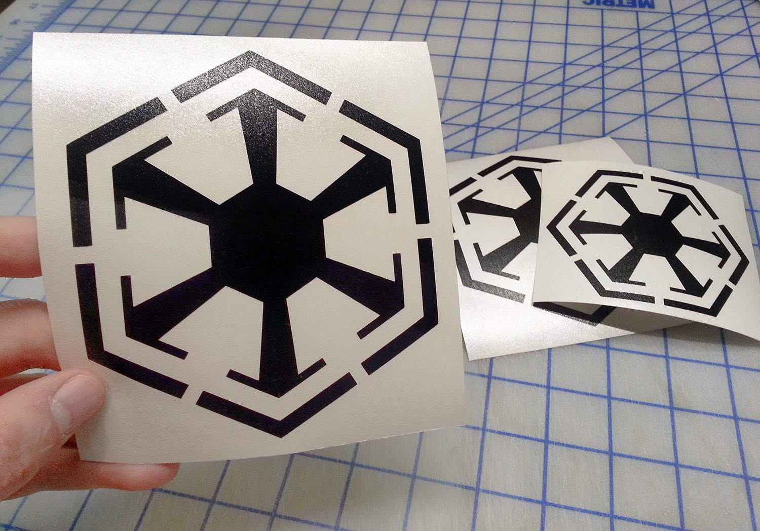 Star Wars Inspired Sith Decal Sith Logo Decal Sith