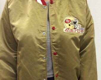 Distressed Green Bay Packers Lee Sport Denim Varsity Jacket XL tOR5To