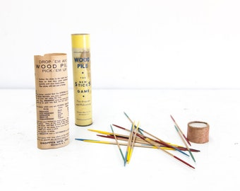 Vintage Pick Up Sticks Game