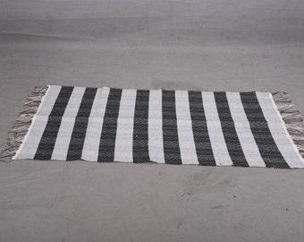 Handmade Turkish Rug From Recycled Fabric
