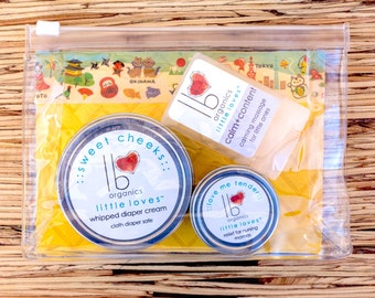 Little Loves // Welcome Little One Organic Gift Set