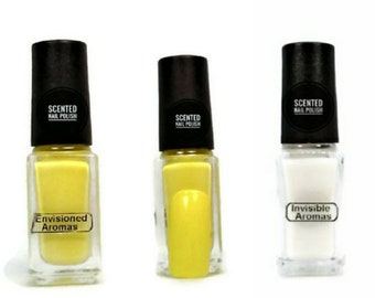 Two if by Scent Collection Yellow/Chamomile Scented Nail Polish