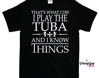 Tuba T-shirt | Tuba Shirt | Tuba T shirt | Tuba Lover Gift | Tuba Player Tee | Tuba Gift | Musician Gift | Gift For Musician | Tuba Teacher