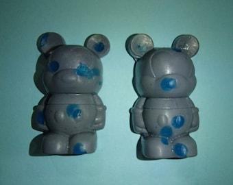 2 Rain Cloud Cartoon Mouse Glycerin Soaps