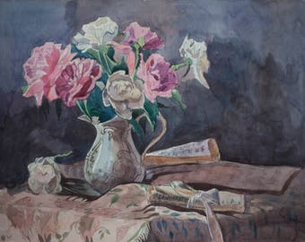 A Still-life with roses