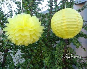 Lantern & Pom Pom