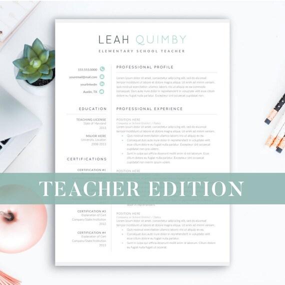 Lehrer Lebenslauf Vorlage für Word 1-3 Seite fortsetzen für