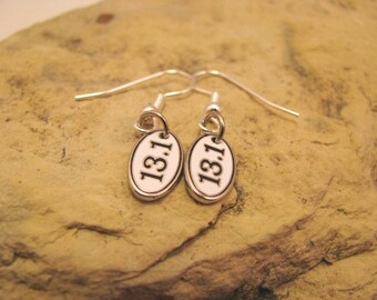 SALE 13.1 or 26.2 earrings