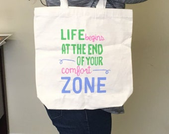 Gym Tote Bag, Custom Tote, Painted Tote Bags, Cute Gym Bags, Canvas Totes, Hand Painted Tote Bag, Gym Bag, Tote Bag, Totes