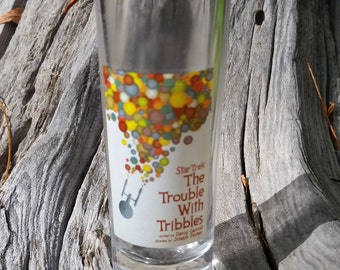 Star Trek Trouble With Tribbles Vintage Shot Glass