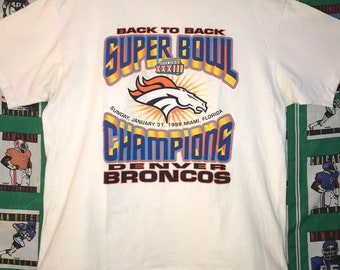 Super Bowl Champion 1999 Denver Broncos Tee