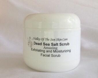Dead Sea Salt Exfoliating Facial Scub
