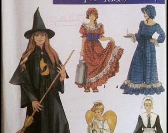 Simplicity 5372  Misses' Girl's Costume Size (2-12)  UNCUT